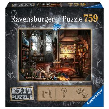 Ravensburger puzzle Exit Puzzle Dračí laboratoř 759 dílků