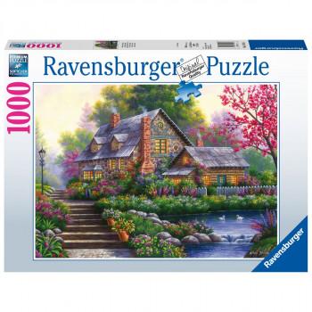 Ravensburger Romantická chata 1000 dílků