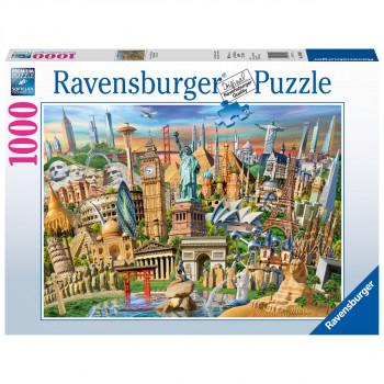 Ravensburger Světoznámá místa 1000 dílků