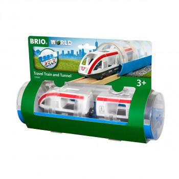 Brio Tunel a osobní vlak