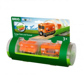 Brio Tunel a nákladní vlak