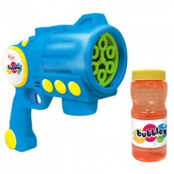 Hamleys bublifuk - Turbo Bubble Blaster modrý