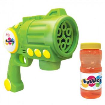 Hamleys bublifuk - Turbo Bubble Blaster zelený