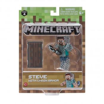 Minecraft Steve v kroužkové zbroji