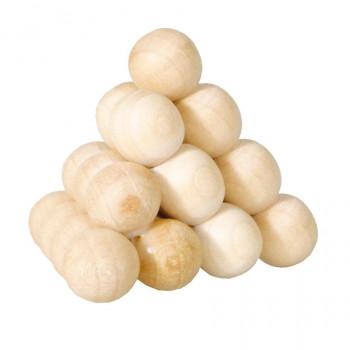 Dřevěný hlavolam Ball pyramid