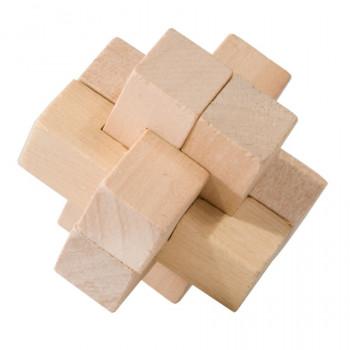 Dřevěný hlavolam Cross