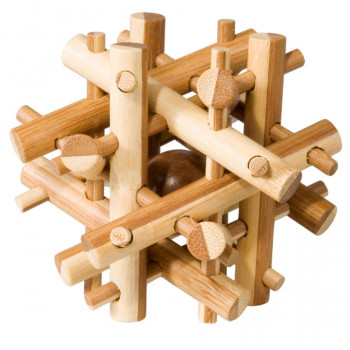 IQ-Test bambusový hlavolam Magic sticks