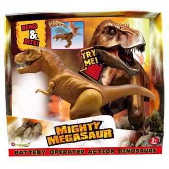 ADC Blackfire Mighty Megasaur Požírající T-Rex hnědý