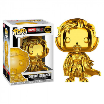 Funko POP Marvel: MS 10 - Doctor Strange (Chrome)