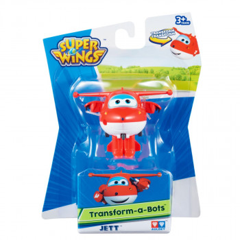 Super Wings - Transformuj Robota - Jett