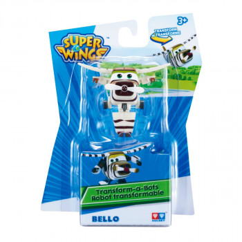 Super Wings Transformuj Robota Bello