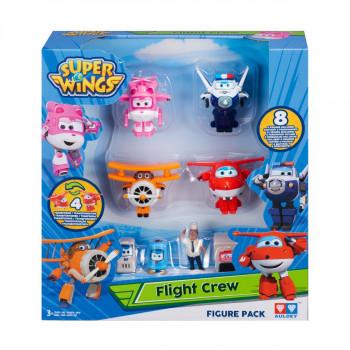 Super Wings - Transformuj Robota - 4 členové posádky v balen