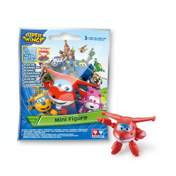 Super Wings - Mini figurky v sáčku 26 ks