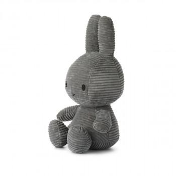 Miffy Corduroy tmavě šedý - 33 cm plyšák
