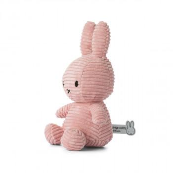 Miffy Corduroy tmavě růžový - 24 cm plyšák
