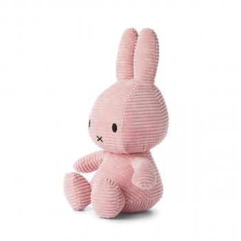 Miffy Corduroy tmavě růžový - 33 cm plyšák