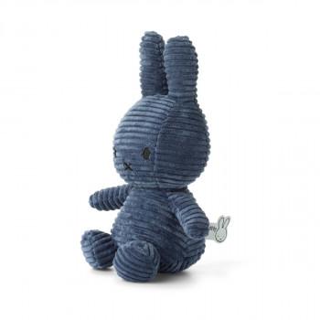 Miffy Corduroy dark modrý - 24 cm plyšák