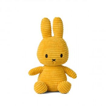 Miffy Corduroy žlutý - 24 cm plyšák
