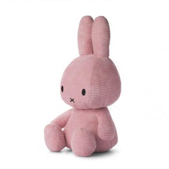 Miffy Corduroy tmavě růžový - 50 cm plyšák
