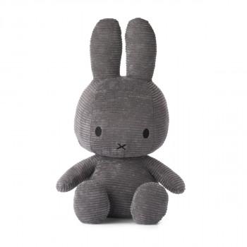 Miffy Corduroy tmavě šedý - 50 cm plyšák