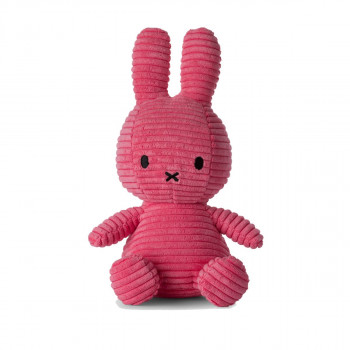 Miffy Corduroy růžový - 24 cm plyšák