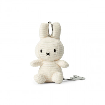 Miffy Klíčenka Corduroy bílý - 10 cm plyšák