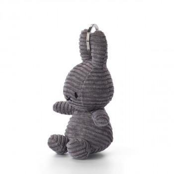Miffy Klíčenka Corduroy tmavě šedý - 10 cm plyšák