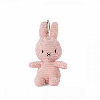 Miffy Klíčenka Corduroy růžový - 10 cm plyšák