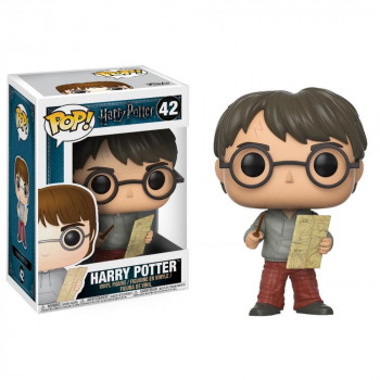 Funko POP Movies: Harry Potter - Harry w/ Marauders Map