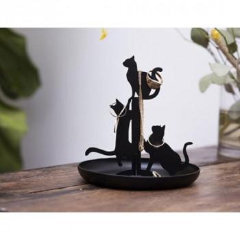 Kikkerland stojánek na šperky - kočky