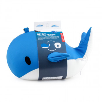 Kikkerland cestovní polštářek - velryba