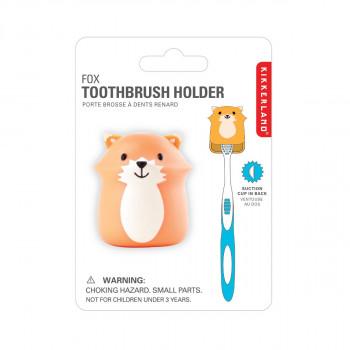 Kikkerland držák na zubní kartáček - liška