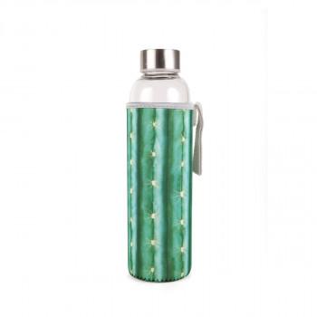 Kikkerland skeněná lahev s obalem (kaktus)
