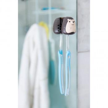 Kikkerland držák na zubní kartáček - ježek