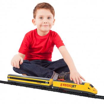 Rappa vlak RegioJet se zvukem a světlem