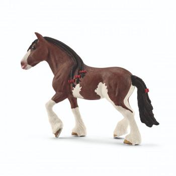 Schleich - Zvířátko - kobyla Clydesdaleská