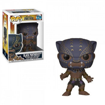 Funko POP Marvel: Black Panther - Black Panther Warrior Fall