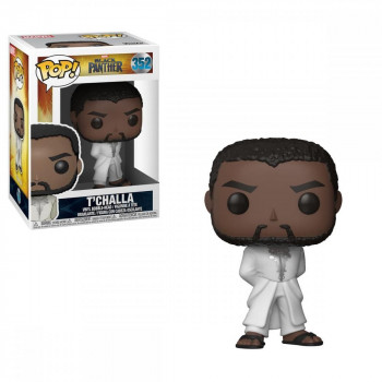 Funko POP Marvel: Black Panther - T'Challa Robe (White)