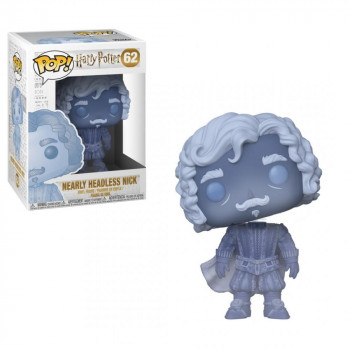 Funko POP Movies: Harry Potter - Nearly Headless Nick (Blue