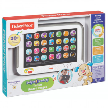 Fisher Price - Smart stages tablet CZ