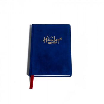 Hamleys sametový poznámkový blok modrý