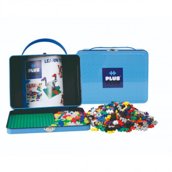 Plus-Plus Kovový kufřík 600 ks