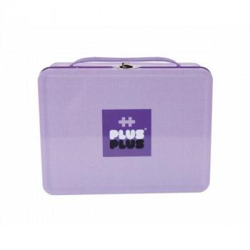 Plus Plus Kovový kufřík pastel 600 ks