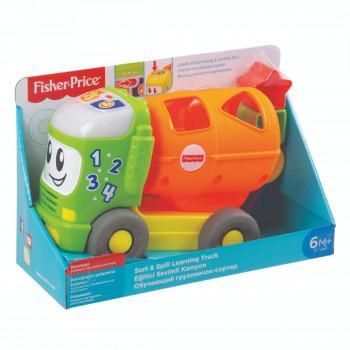 Fisher Price - Hudební autíčko vkládačka