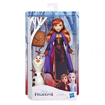 Frozen 2 storytelling fashion doll Anna