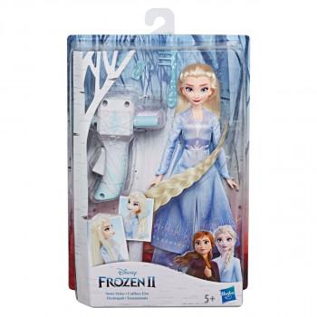 Hasbro Frozen 2 Panenka Elsa se zaplétačem vlasů