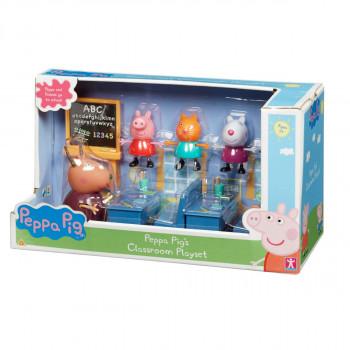 Hrací set Peppa Pig škola