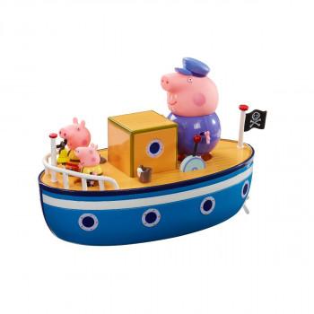 Prasátko Peppa loď s figurkou