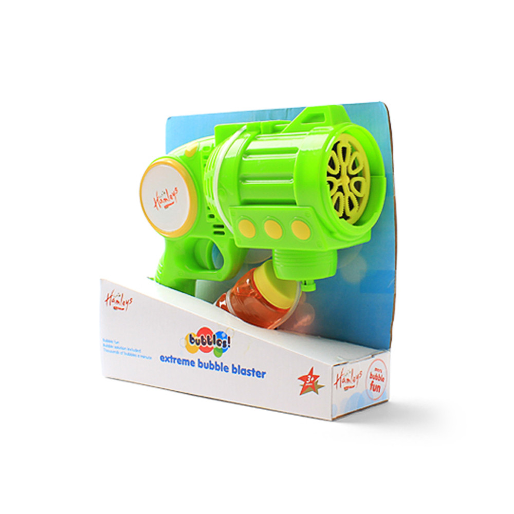hamleys extreme bubble blaster green