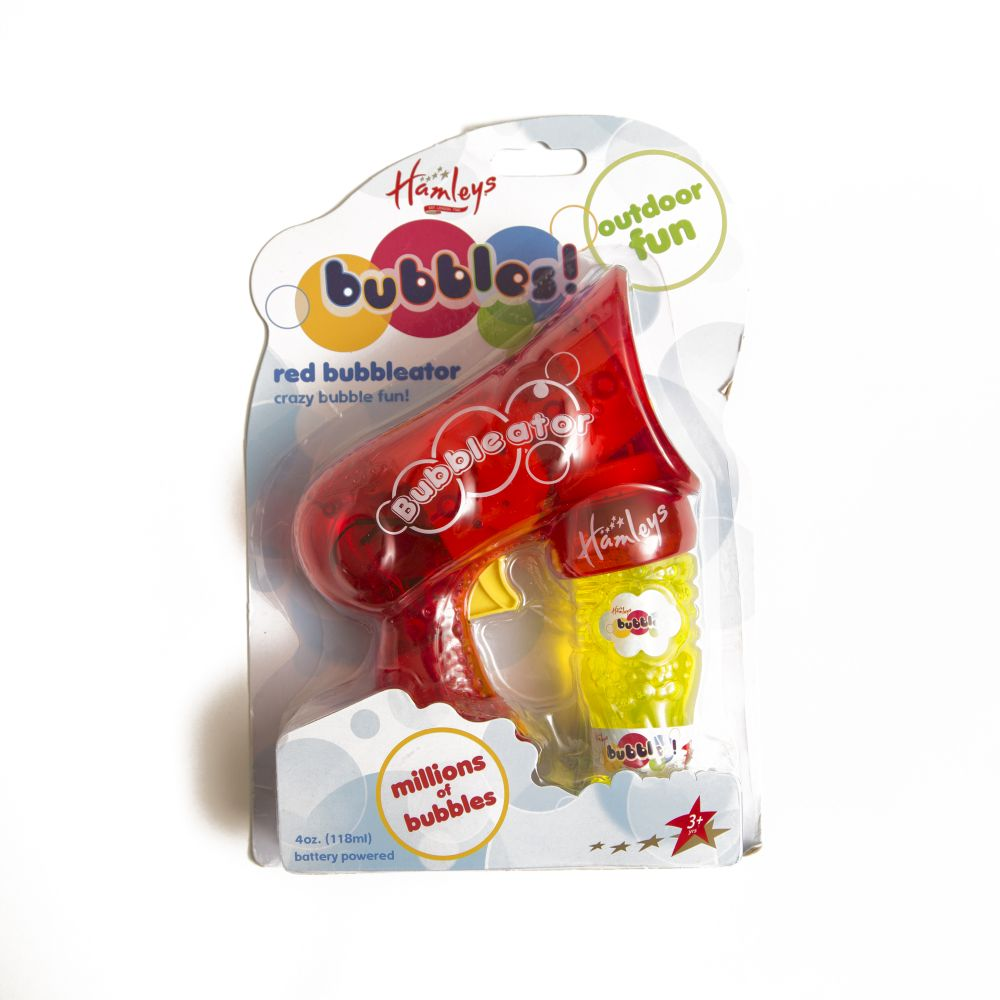 hamleys bubbleator red pack